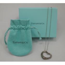 TIFFANY&Co. ティファニー オープンハート ペンダント S