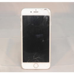 iPhone 6 64GB シルバー ガラス破損あり