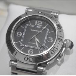 カルティエ パシャシータイマー メンズ腕時計