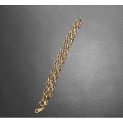K18 プラチナ850 コンビ ネックレス