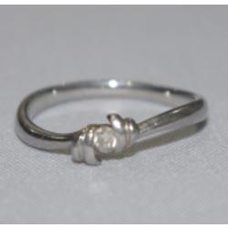 プラチナ900 指輪 メレダイヤ付き