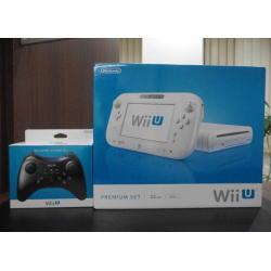 WiiU プレミアムセット白 PROコントローラー付き