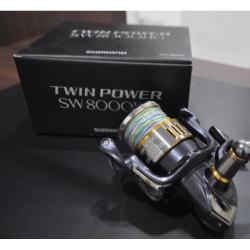 シマノ リール TWIN POWER SW 8000HG