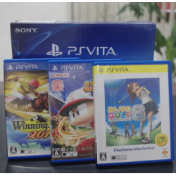 PlayStation Vita本体 他ソフト3本