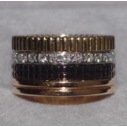 ブシュロン キャトル ダイヤモンドリング ラージ