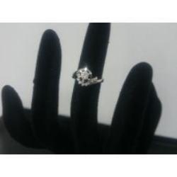 グッチ K18 ダイヤモンドリング