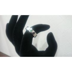 K18WG 指輪 メレダイヤ付き