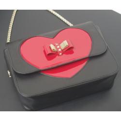 クリスチャンルブタン バレンタイン限定モデル チェーン ショルダーバッグ