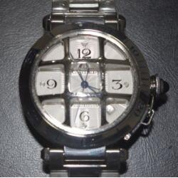 カルティエ メンズ腕時計 パシャ38