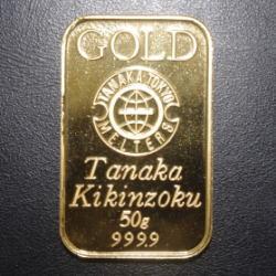 純金 インゴッド 50グラム
