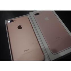 iPhone7 Plus 128GB ローズゴールド