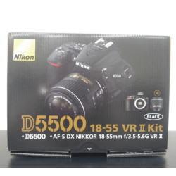 ニコン D5500 18-55 VR II レンズキット