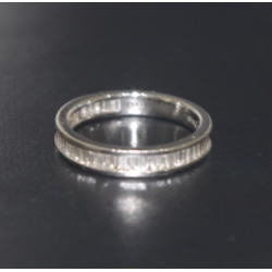 プラチナ900 メレダイヤリング