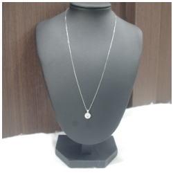 プラチナ850 1.09ct ダイヤモンドネックレス