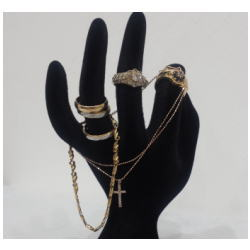 K18 ネックレス・ダイヤモンドリング