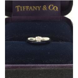 ティファニー プラチナ950 ダイヤモンドリング