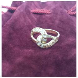 K18 ダイヤモンドリング