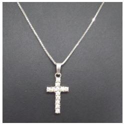 プラチナ850 ダイヤモンドネックレス