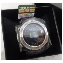 プロトレック トリプルセンサー タフソーラー腕時計/PRW-3100-6JF