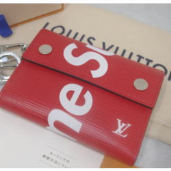 SUPREME×LOUIS VUITTON ルイヴィトン チェーン付きウォレット