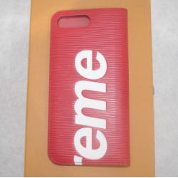 SUPREME×LOUIS VUITTON フォリオ エピ iPhone7 Plus ケース