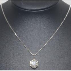 プラチナ900 ダイヤモンド ネックレス