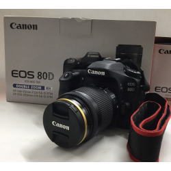 CANON EOS 80D ダブルズームキット