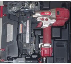 質預り・買取り品-電化製品 MAX 釘打ち機