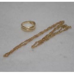 質預り・買取り品-金 ネックレス 指輪
