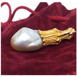 質預り・買取り品-宝石,金 ネックレストップ パール