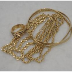 質預り・買取り品-金 ネックレス ブレスレット 指輪
