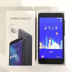ZenFone 3 Max ZC553KL SIMフリー グレー