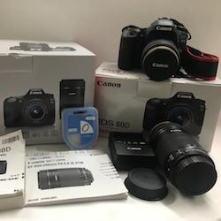 Canon キャノン デジタル一眼レフカメラ EOS 80D ダブルズームキット