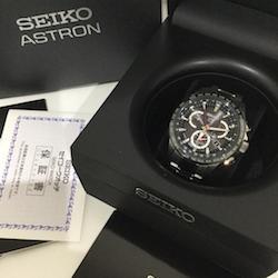 セイコー ASTRON GPSソーラー デュアルタイム SBXB041