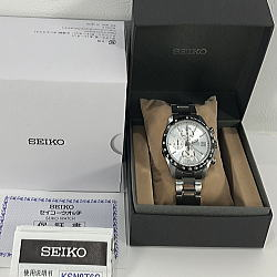 セイコー スピリット クロノグラフ SBTR007 メンズクオーツ腕時計