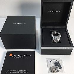 HAMILTON ハミルトン ジャズマスター 腕時計 裏スケルトン H327150