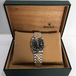 ロレックス デイトジャスト  10ポイントダイヤモデル 16234G
