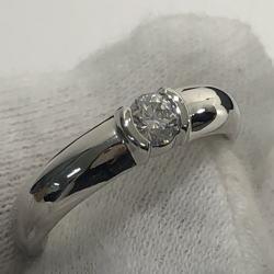 ティファニー TIFFANY&CO. プラチナ950 ダイヤモンドリング 0.21ct