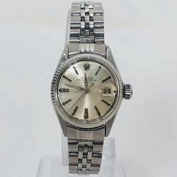 ロレックス オイスターパーペチュアル デイト レディース自動巻き腕時計 Ref.6517 1964年製 アンティーク