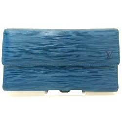ルイ・ヴィトン ポルトトレゾール・インターナショナル エピ レザー M63385 三つ折り財布