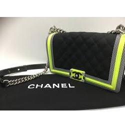 未使用 CHANEL シャネル 2016 ボーイシャネル ショルダーバッグ
