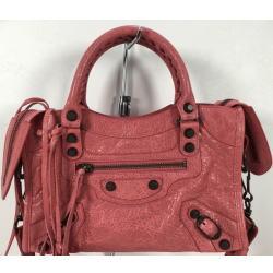 バレンシアガ ハンドバッグ クラシックミニシティ 300295 ピンク