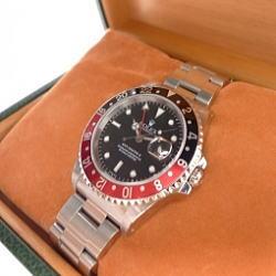 ROLEX ロレックス GMTマスターII 16710 黒赤 U番