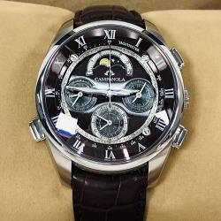 シチズン カンパノラ グランドコンプリケーション クロノグラフ クオーツ腕時計 CTR57-1001 深緋