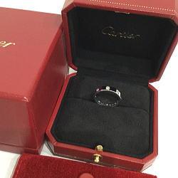 Cartier カルティエ K18WG ミニラブリング フルダイヤ 8P ホワイトゴールド 10号
