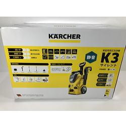 新品未使用品 KARCHER ケルヒャー 家庭用高圧洗浄機 K3サイレント 60Hz(西日本専用)