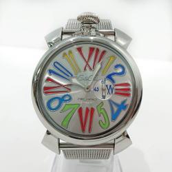 GaGaMILANO ガガミラノ 時計 クォーツ スリム46MM 5080.1