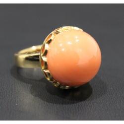 質預り・買取り品-宝石,金 指輪 珊瑚