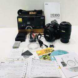 Nikon ニコン デジタル一眼レフカメラD5300 ブラック/AF-S NIKKOR 50mm 1:1.8G/TAMRON 18-270mm F3.5-6.3