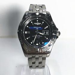 ブライトリング BREITLING Galactic 自動巻き腕時計 A49350L2 BA07